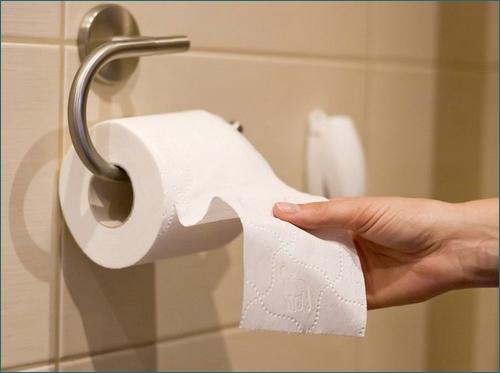 hemoroidy - papier toaletowy